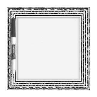 Customizable Marker Board Sketched Frame Dry-Erase Board