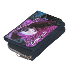 Customizable Masked Carnival Character Wallets