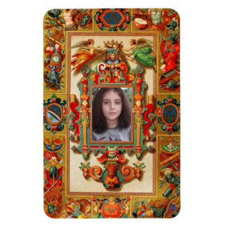 Customizable Medieval Cover Magnet
