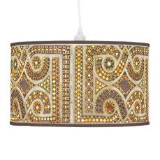 Customizable Medieval Pattern Hanging Lamp
