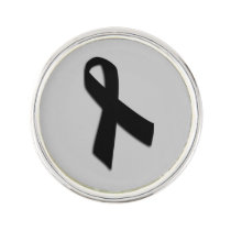 Customizable Melanoma Cancer Lapel Pin