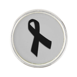 Customizable Melanoma Cancer Lapel Pin