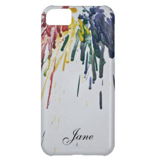 Customizable Melted Crayons iPhone 5C Covers