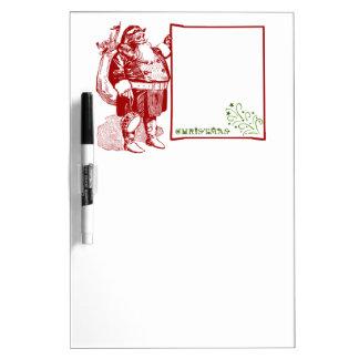 Customizable Merry Christmas Dry Erase Board