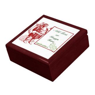 Customizable Merry Christmas Jewelry Box