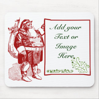 Customizable Merry Christmas Mouse Pad