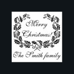 "Customizable Merry Christmas rubber stamp<br><div class=""desc"">Customizable Merry Christmas rubber stamp.</div>"