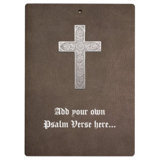 Customizable Metal Cross Clipboard