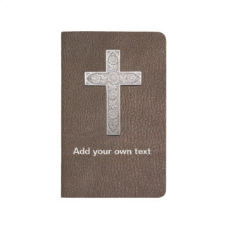 Customizable Metal Cross Journal