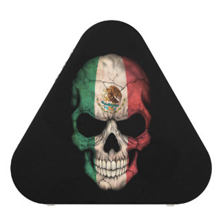 Customizable Mexican Flag Skull Bluetooth Speaker