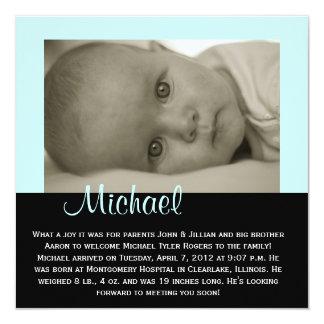 "CUSTOMIZABLE - ""Michael"" Card"