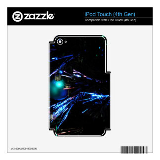 Customizable: Midnight baubles Decals For iPod Touch 4G