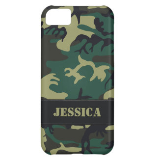 Customizable Military Camo iPhone 5C Covers