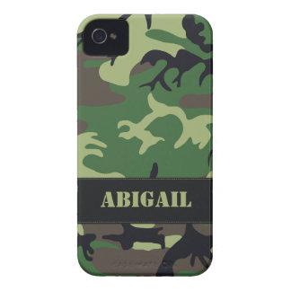Customizable Military Camo iPhone 4 Case