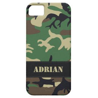 Customizable Military Camo iPhone 5 Case