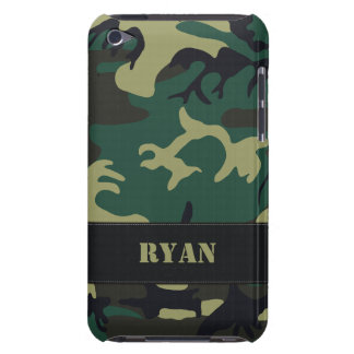 Customizable Military Camo iPod Touch Case