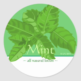 Customizable Mint Stickers