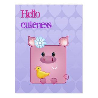 Customizable: Miss Piggy Post Card