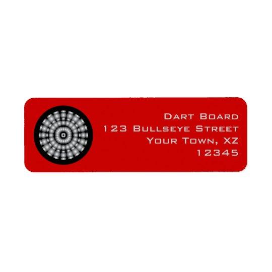 Customizable Mod Dartboard Label