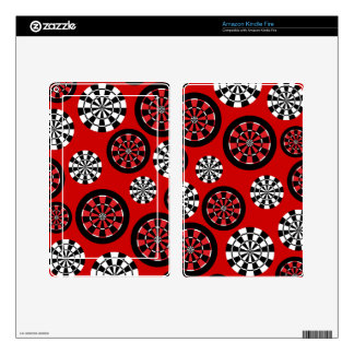 Customizable Mod Dartboards Decals For Kindle Fire