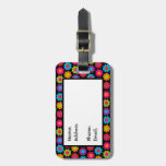 Customizable Mod Flower Power Tags For Luggage