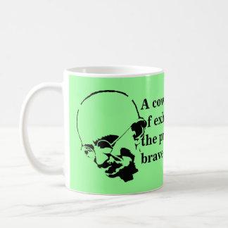Customizable Mohandas Gandhi Quote Coffee Mugs