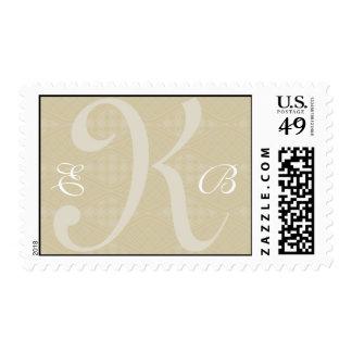 Customizable Monogram : 3 letters : Stamp