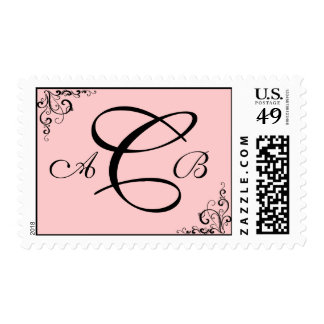 Customizable Monogram : 3 letters : Stamps