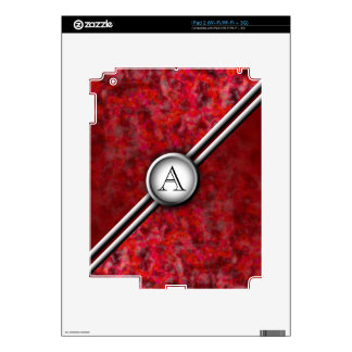 Customizable Monogram: Chrome Decals For The iPad 2