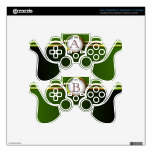 Customizable Monogram: Fall Leaves Skin For PS3 Controller