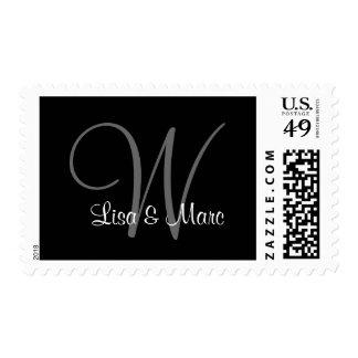 Customizable Monogram Postage