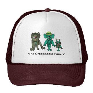 Customizable Monster Family Trucker Hat