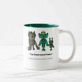 Customizable Monster Family Coffee Mug