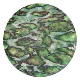 Customizable Monster Skin Melamine Plate