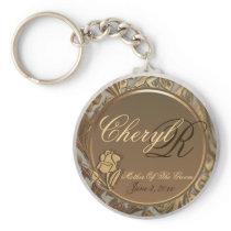 Customizable Mother Of The Groom Keepsake Keychain