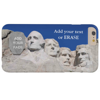 Customizable Mount Rushmore National Memorial… Barely There iPhone 6 Plus Case