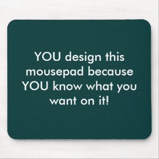 Customizable mousepad