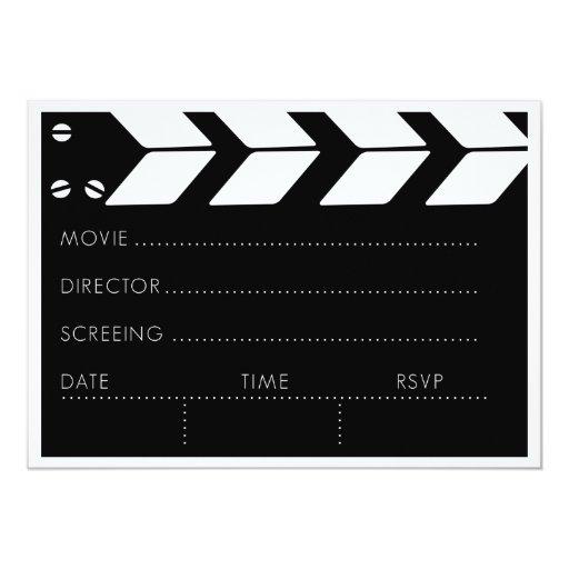 Customizable Movie Night Announcements