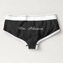 Customizable Mrs. Briefs