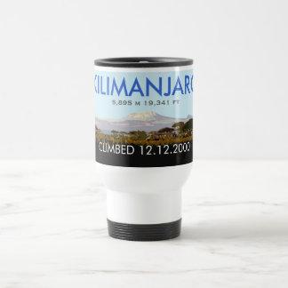 Customizable Mt Kilimanjaro Climb Commemorative Travel Mug