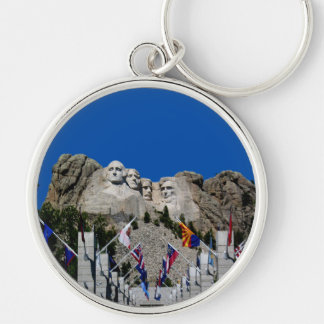 Customizable Mt Rushmore Souvenir Keychain