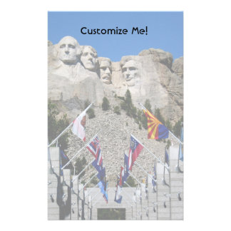 Customizable Mt Rushmore Souvenir Stationery