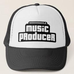 Customizable Music Producer Trucker Hat