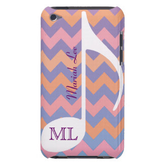 customizable musical note & chevron iPod touch Case-Mate case