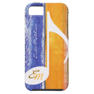 customizable musical note iPhone SE/5/5s case