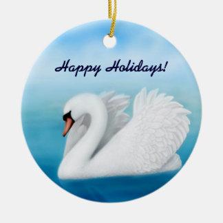 Customizable Mute Swan Ornament