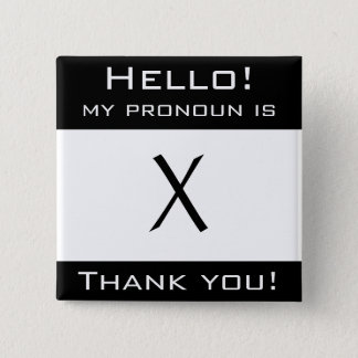 "Customizable ""My pronoun"" button"
