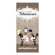 Customizable Nail Salon Rack Card