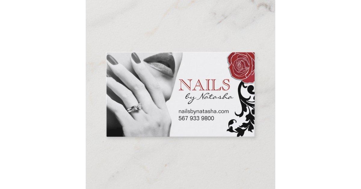 Customizable Nail Technician Business Cards | Zazzle.com