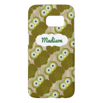 Customizable Name Brown Owl iPhone SG7 Case
